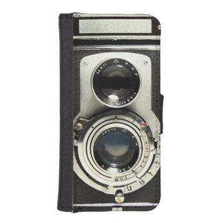 Coque Avec Portefeuille Pour iPhone 5 Appareil-photo vintage original