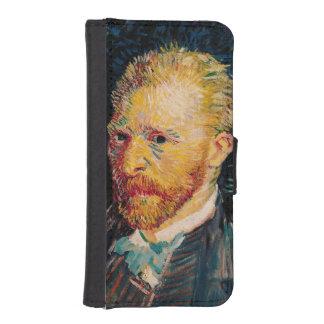 Coque Avec Portefeuille Pour iPhone 5 Autoportrait de Vincent van Gogh |, 1887