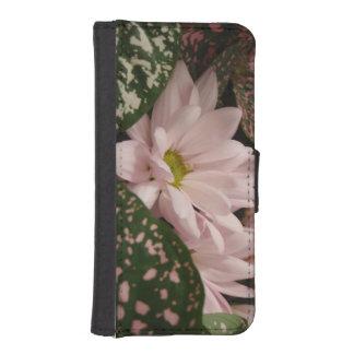 Coque Avec Portefeuille Pour iPhone 5 Cas assez floral de téléphone