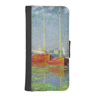 Coque Avec Portefeuille Pour iPhone 5 Claude Monet | Argenteuil, c.1872-5