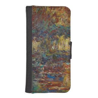 Coque Avec Portefeuille Pour iPhone 5 Claude Monet | le pont japonais