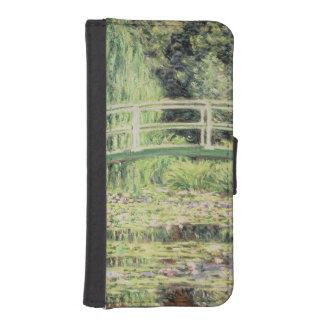 Coque Avec Portefeuille Pour iPhone 5 Claude Monet | Nenuphars blanc, 1899