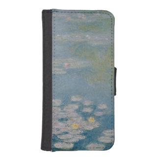 Coque Avec Portefeuille Pour iPhone 5 Claude Monet | Nympheas chez Giverny, 1908