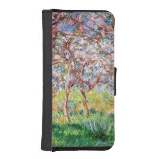 Coque Avec Portefeuille Pour iPhone 5 Claude Monet | Printemps un Giverny