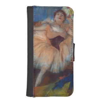 Coque Avec Portefeuille Pour iPhone 5 Danseur assis par | d'Edgar Degas, 1879-80