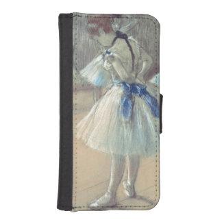 Coque Avec Portefeuille Pour iPhone 5 Danseur d'Edgar Degas |