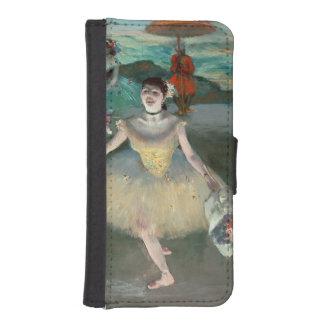 Coque Avec Portefeuille Pour iPhone 5 Danseur d'Edgar Degas | avec le bouquet, faisant
