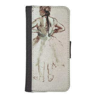Coque Avec Portefeuille Pour iPhone 5 Danseur d'Edgar Degas | vu du dos