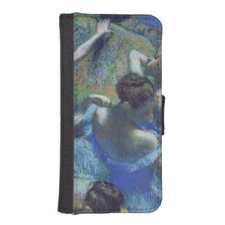 Coque Avec Portefeuille Pour iPhone 5 Danseurs de bleu d'Edgar Degas |, c.1899