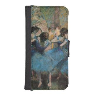 Coque Avec Portefeuille Pour iPhone 5 Danseurs d'Edgar Degas | dans le bleu, 1890