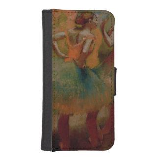 Coque Avec Portefeuille Pour iPhone 5 Danseurs d'Edgar Degas | utilisant des jupes de