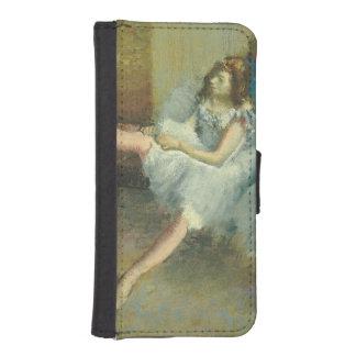 Coque Avec Portefeuille Pour iPhone 5 Edgar Degas | avant le ballet, 1890-1892