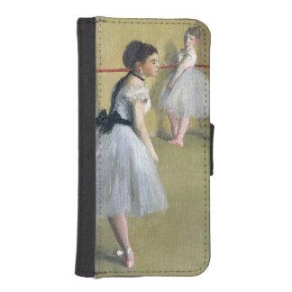 Coque Avec Portefeuille Pour iPhone 5 Edgar Degas | le foyer de danse