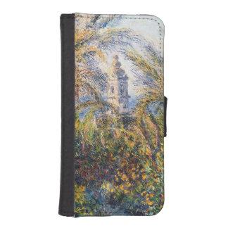 Coque Avec Portefeuille Pour iPhone 5 Jardin de Claude Monet | dans Bordighera