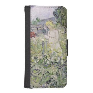 Coque Avec Portefeuille Pour iPhone 5 Mademoiselle Gachet de Vincent van Gogh | dans le