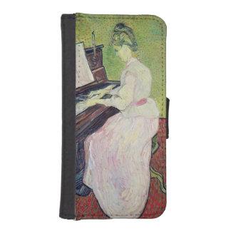 Coque Avec Portefeuille Pour iPhone 5 Marguerite des prés Gachet de Vincent van Gogh |