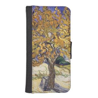Coque Avec Portefeuille Pour iPhone 5 Mûrier de Vincent van Gogh |, 1889
