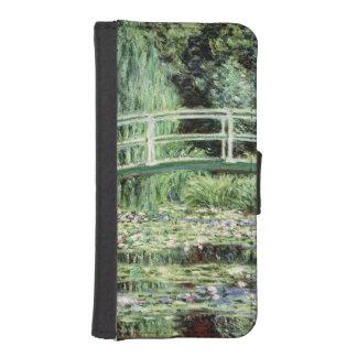 Coque Avec Portefeuille Pour iPhone 5 Nénuphars de blanc de Claude Monet |, 1899