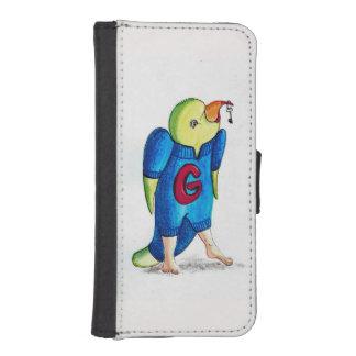Coque Avec Portefeuille Pour iPhone 5 Perroquet de cas d'Iphone 5
