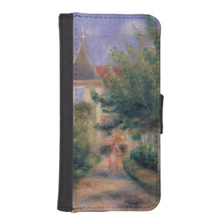 Coque Avec Portefeuille Pour iPhone 5 Pierre maison de Renoir | un Renoir chez Essoyes