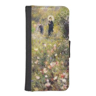 Coque Avec Portefeuille Pour iPhone 5 Pierre un paysage d'été de Renoir |
