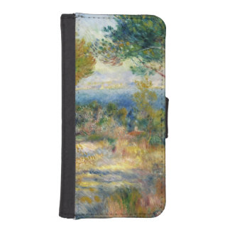 Coque Avec Portefeuille Pour iPhone 5 Pierre un Renoir | L'Estaque