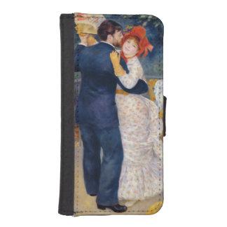 Coque Avec Portefeuille Pour iPhone 5 Pierre un Renoir   une danse dans le pays