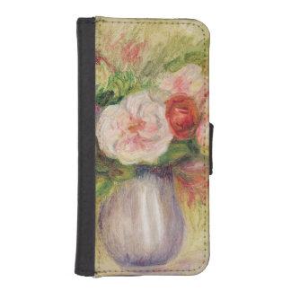 Coque Avec Portefeuille Pour iPhone 5 Pierre un vase à Renoir | de fleurs