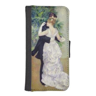 Coque Avec Portefeuille Pour iPhone 5 Pierre une danse de Renoir | dans la ville