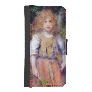 Coque Avec Portefeuille Pour iPhone 5 Pierre une fille gitane de Renoir |