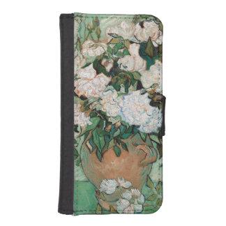 Coque Avec Portefeuille Pour iPhone 5 Roses de Vincent van Gogh |, 1890