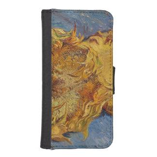 Coque Avec Portefeuille Pour iPhone 5 Tournesols de Vincent van Gogh |, 1887