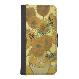 Coque Avec Portefeuille Pour iPhone 5 Tournesols de Vincent van Gogh |, 1888
