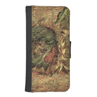 Coque Avec Portefeuille Pour iPhone 5 Vincent van Gogh | deux tournesols coupés, 1887
