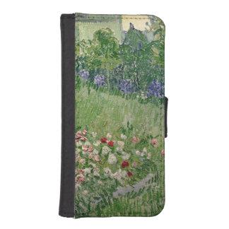 Coque Avec Portefeuille Pour iPhone 5 Vincent van Gogh jardin de | Daubigny, 1890