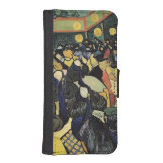 Coque Avec Portefeuille Pour iPhone 5 Vincent van Gogh | la salle de danse chez Arles,