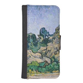Coque Avec Portefeuille Pour iPhone 5 Vincent van Gogh | l'Alpilles, 1889