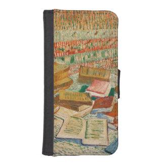 Coque Avec Portefeuille Pour iPhone 5 Vincent van Gogh | les livres jaunes, 1887