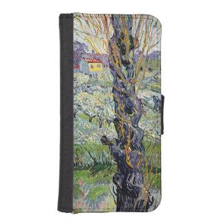 Coque Avec Portefeuille Pour iPhone 5 Vue de Vincent van Gogh | d'Arles, 1889