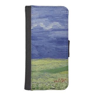 Coque Avec Portefeuille Pour iPhone 5 Wheatfields de Vincent van Gogh | sous le nuage