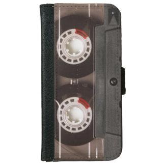 Coque Avec Portefeuille Pour iPhone 6 Cassette de bande vintage des rétros années 80