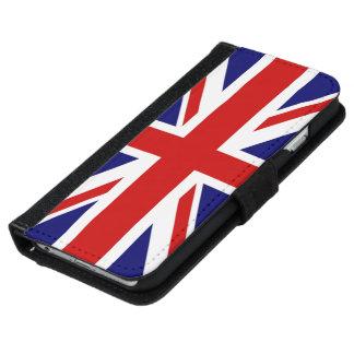 Coque Avec Portefeuille Pour iPhone 6 Drapeau très frais du Royaume-Uni la conception de