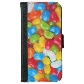 Coque Avec Portefeuille Pour iPhone 6 Festin doux de sucrerie de dragée à la gelée de