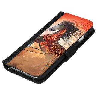 Coque Avec Portefeuille Pour iPhone 6 Hors courants déplaisants impressionnants