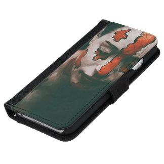 Coque Avec Portefeuille Pour iPhone 6 Madame des larmes cramoisies