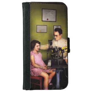 Coque Avec Portefeuille Pour iPhone 6 Optométriste - l'examen de la vue 1929