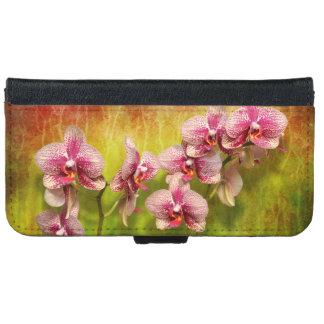 Coque Avec Portefeuille Pour iPhone 6 Orchidée - Phalaenopsis - simplement un plaisir
