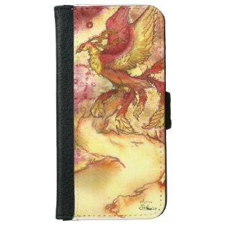 Coque Avec Portefeuille Pour iPhone 6 Phoenix Etui pour Iphone 6/6s