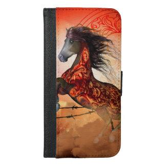 Coque Avec Portefeuille Pour iPhone 6 Plus Hors courants déplaisants impressionnants