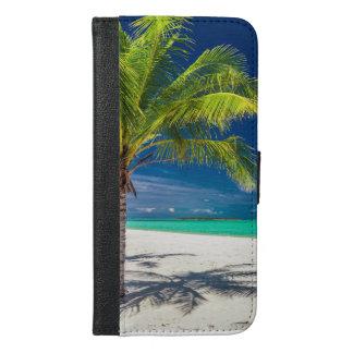 Coque Avec Portefeuille Pour iPhone 6 Plus iPhone 6/6s d'île de plage plus la caisse de